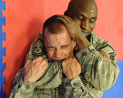 Fit to Fight: Combatives Course teaches Airmen...