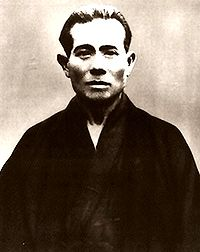Kanbun Uechi founder of Uechi-Ryu Karate-do